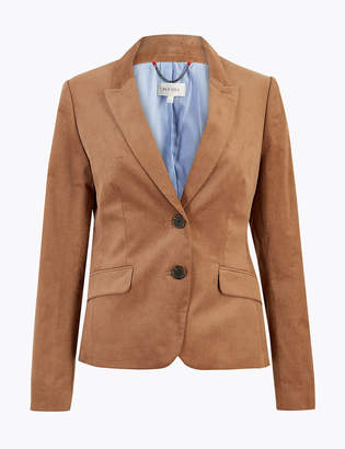 Marks and Spencer Slim Fit Corduroy Blazer