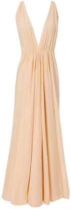 Kalita Clemence Deep-V Maxi Dress