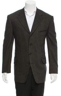 Gianni Versace Striped Blazer Jacket