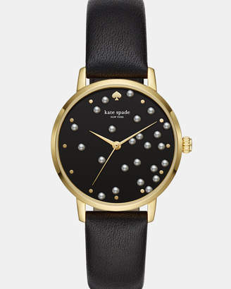 Kate Spade Metro Black Analogue Watch
