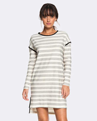 Roxy Womens Kayenta Valley Stripe Knit Dress