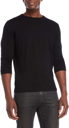 Forte Cashmere Worsted Crew Neck Cashmere Sweater