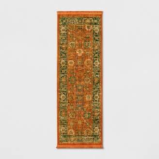 Threshold Persian with Fringe Border Woven Rug