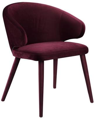 Moe's Home Collection Stewart Dining Chair Purple