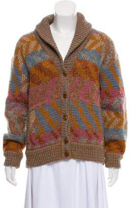 Missoni Patterned Wool Cardigan