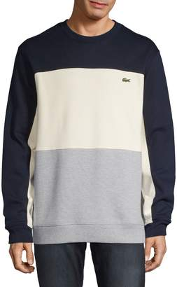 Lacoste Long Sleeve Colourblock Sweatshirt