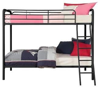LOFT Room & Joy Evan Twin over Twin Metal Bunk Bed