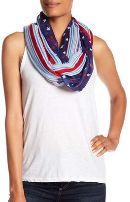 Collection XIIX Stars & Stripes Infinity Scarf