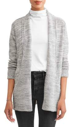 JASON MAXWELL Women's Marled Pocket Cardigan
