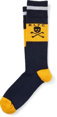 Ralph Lauren Rugby Cotton-Blend Socks