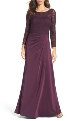 Women's La Femme Embellished Gown $528 thestylecure.com