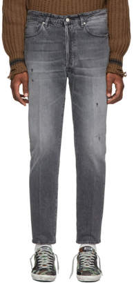 Golden Goose Grey Happy Jeans