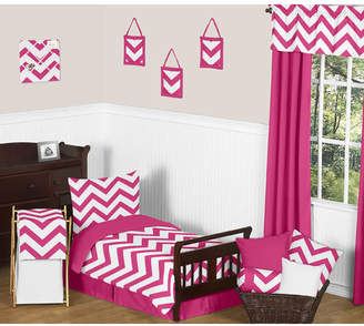 JoJo Designs Sweet Chevron 5 Piece Toddler Bedding Set
