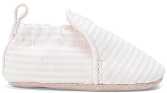 Ralph Lauren Percie Striped Slip-On Shoe