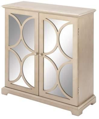 Uma Enterprises Modern Reflections Wood Mirror Cabinet
