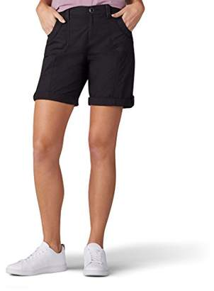 Lee Women's Relaxed Fit Melody Knit Waist Bermuda Short