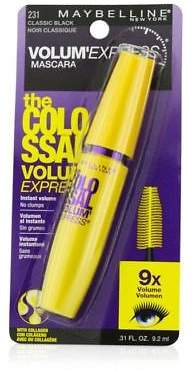 Maybelline NEW Volum' Express The Colossal Washable Mascara - #Classic Black
