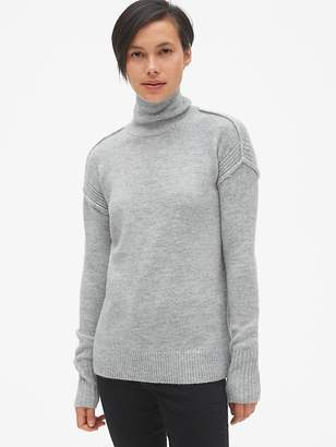 Gap Brushed Turtleneck Pullover Sweater