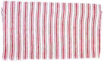 Caravan Set of 4 Copland Dinner Napkins - Red/White