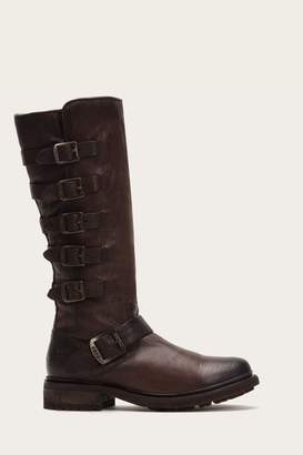 Frye Valerie Belted Tall Shearling