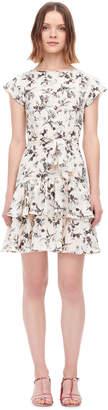 Rebecca Taylor Sofia Fleur Silk Dress