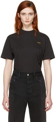 Vetements Black Basic 'Staff' T-Shirt $175 thestylecure.com