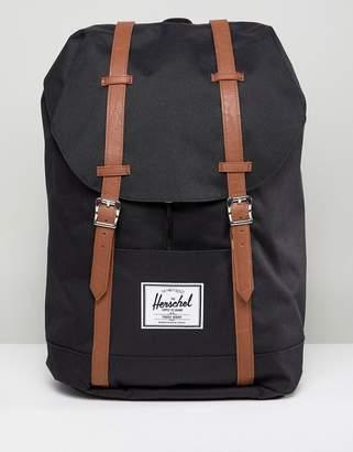 Herschel Retreat Mid Volume Backpack With Contrast Strap