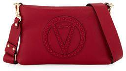 Mario Valentino Valentino By Vanille Rock Dollaro Leather Studded Shoulder Bag