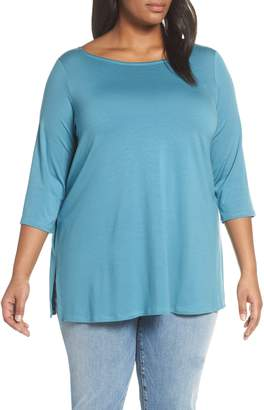 32f51ad5b76 Eileen Fisher Jersey Tunic - ShopStyle