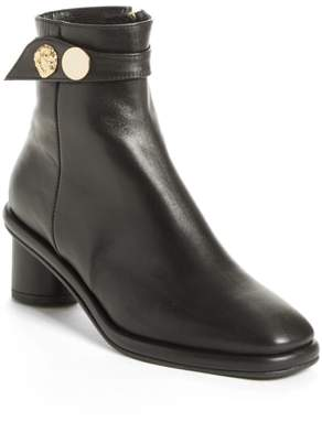 Reike Nen Gold Hardware Ankle Boot