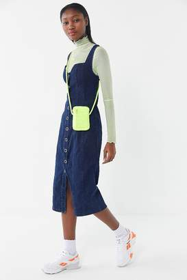 Finders Keepers Déjà Vu Denim Midi Dress