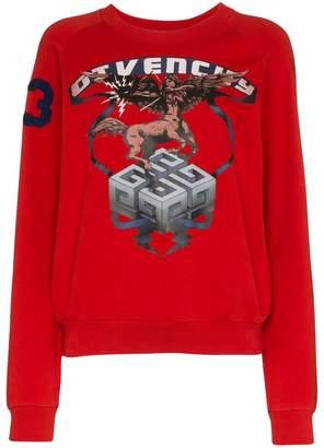 Givenchy Sagittarius Sign print cotton sweatshirt
