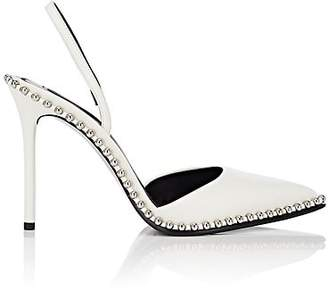 Alexander Wang Women's Rina Leather Slingback Pumps - White