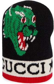 Gucci Hat with panther and Kingsnake