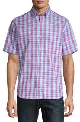 Tailorbyrd Loch Cotton Button-Down Shirt