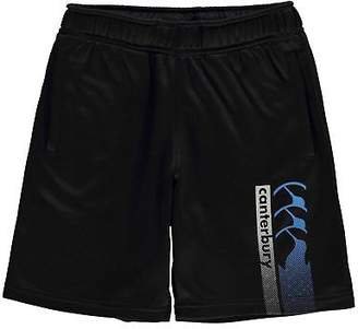 Canterbury of New Zealand Kids Boys CCC Logo Shorts Junior Fleece Pants Trousers Bottoms