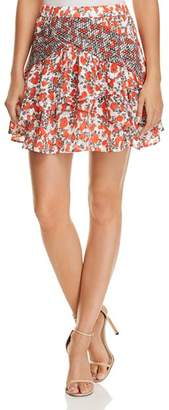 Iro . Jeans IRO.JEANS Secrets Printed Mini Skirt