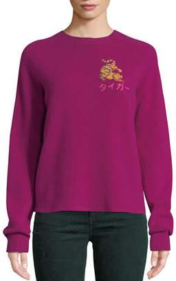 Rag & Bone Storm Wool Intarsia Pullover Sweater