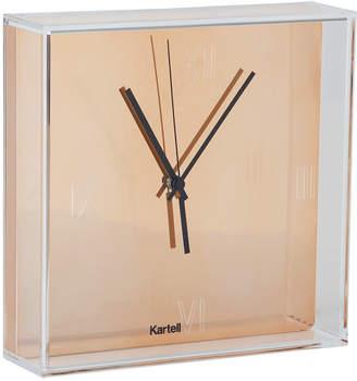 Kartell Tic & Tac Wall Clock - Copper