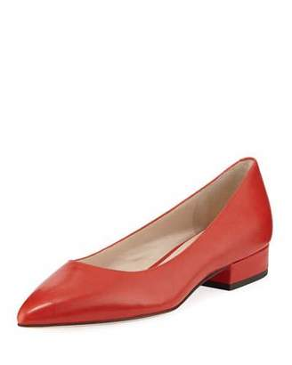 Cole Haan Vesta Grand Leather Skimmer Flats, Barbados Cherry
