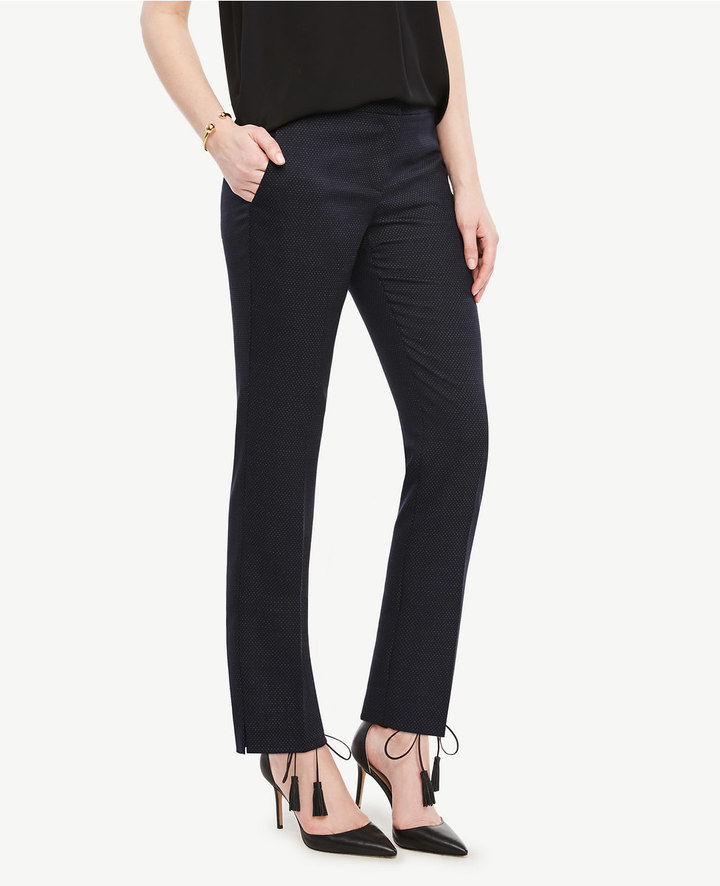 Ann TaylorThe Ankle Pant in Pindot - Kate Fit
