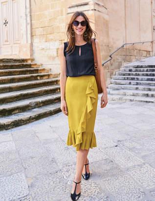 Boden Neve Linen Skirt