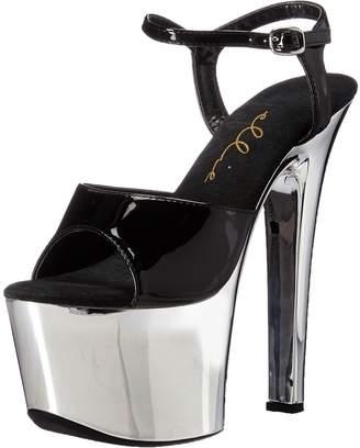 Ellie Shoes Women's 711-chrome Platform Sandal
