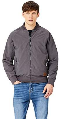 HIKARO Men's Bomber Jacket,(Manufacturer size: Small)