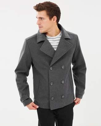 TAROCASH Glasgow Wool Blend Coat