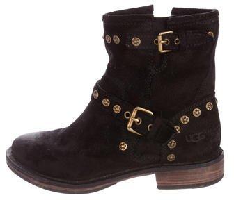 UGGUGG Australia Embellished Suede Boots