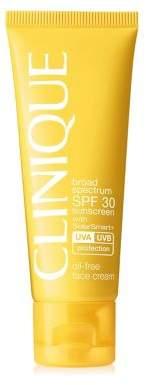 Clinique Broad Spectrum Oil-Free Face Sunscreen/1.7 oz.