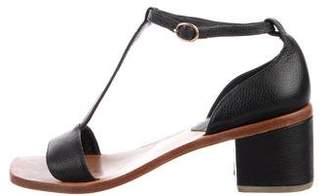 Rachel Comey Leather Low Heel Sandals