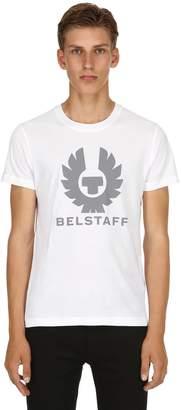 Belstaff Logo Printed Cotton Jersey T-Shirt
