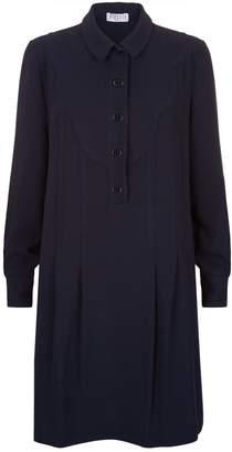 Claudie Pierlot Round Collar Shift Dress